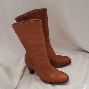 UGG Stella leather boots.